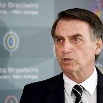 """Brazil's homophobic president says he doesn't want his country to become a """"gay tourism paradise,"""" and we're so tired"""
