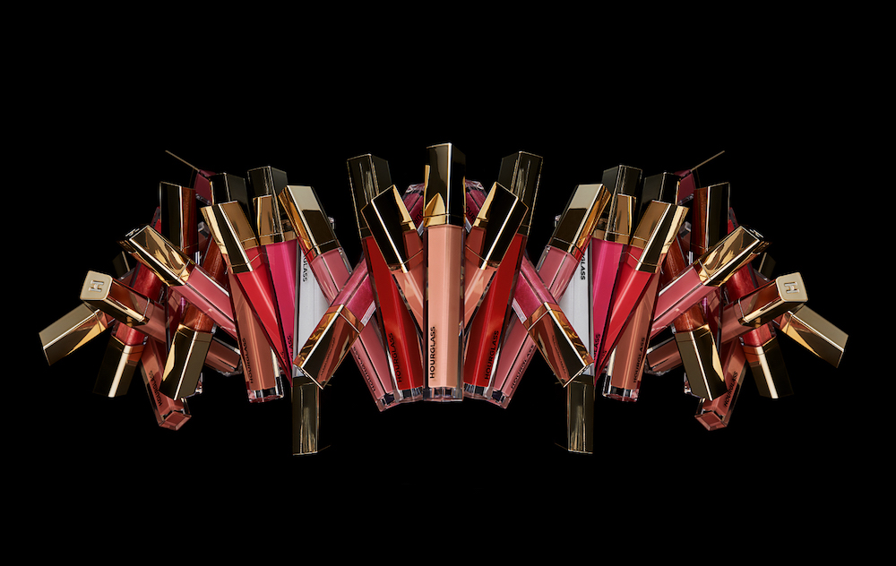Hourglass Cosmetics' new lip gloss formula plumps up your lips—without the annoying sting