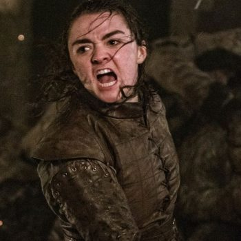 Um, apparently a lot of dudes were mad about Arya's big moment during the Battle of Winterfell