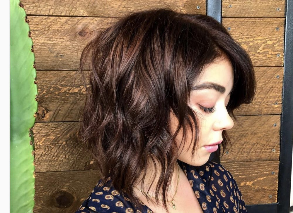 Shaggy hair with bangs is officially the look of summer, and here's inspo pics to take to the salon