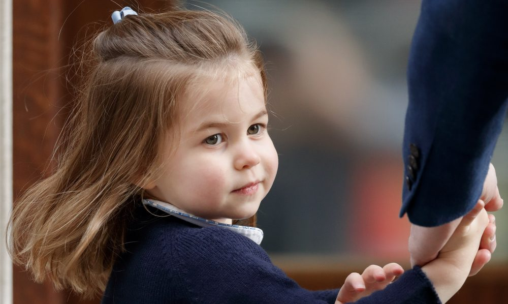 The palace released new photos of Princess Charlotte on her 4th birthday, and she looks so much like the queen