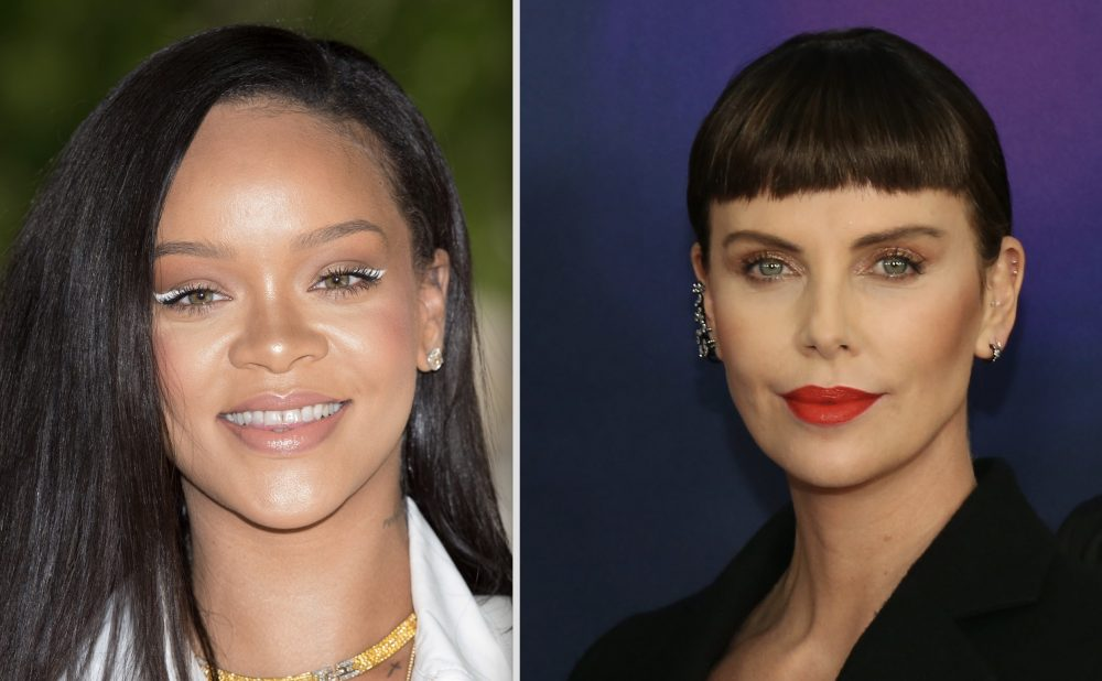 Rihanna trolled Charlize Theron so hard with this gag gift, and we're still laughing