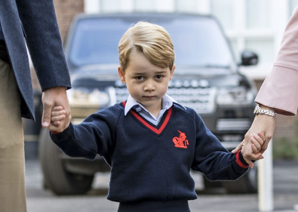 Um, did Prince George reveal the new royal baby's name months ago without anyone noticing?