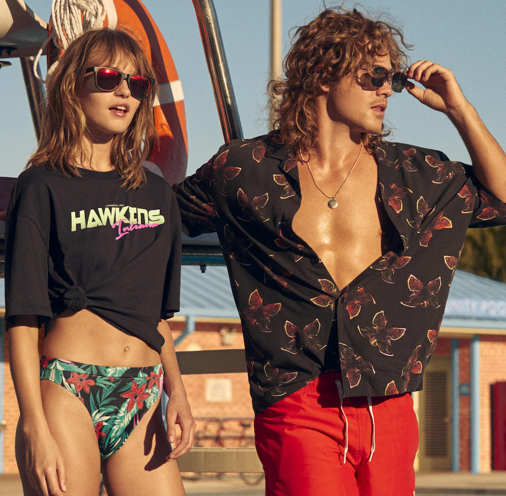 H&amp;M is launching a <em>Stranger Things</em> collection featuring hidden demogorgon prints