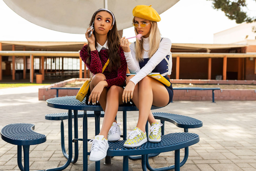K-Swiss is releasing <em>Clueless</em> sneakers inspired by Cher Horowitz's most iconic outfit