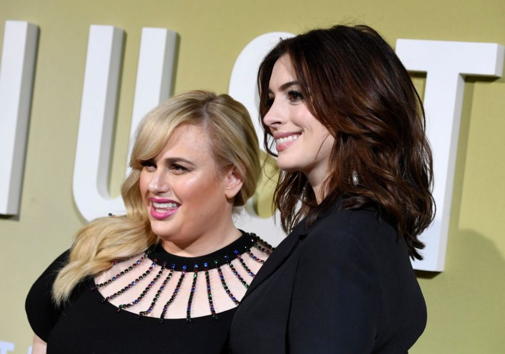 Anne Hathaway and Rebel Wilson think sexism contributed to <em>The Hustle</em>'s R-rating