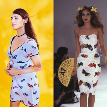 The Betsey Johnson and Urban Outfitters collab is a throwback to the designer's 1997 summer collection