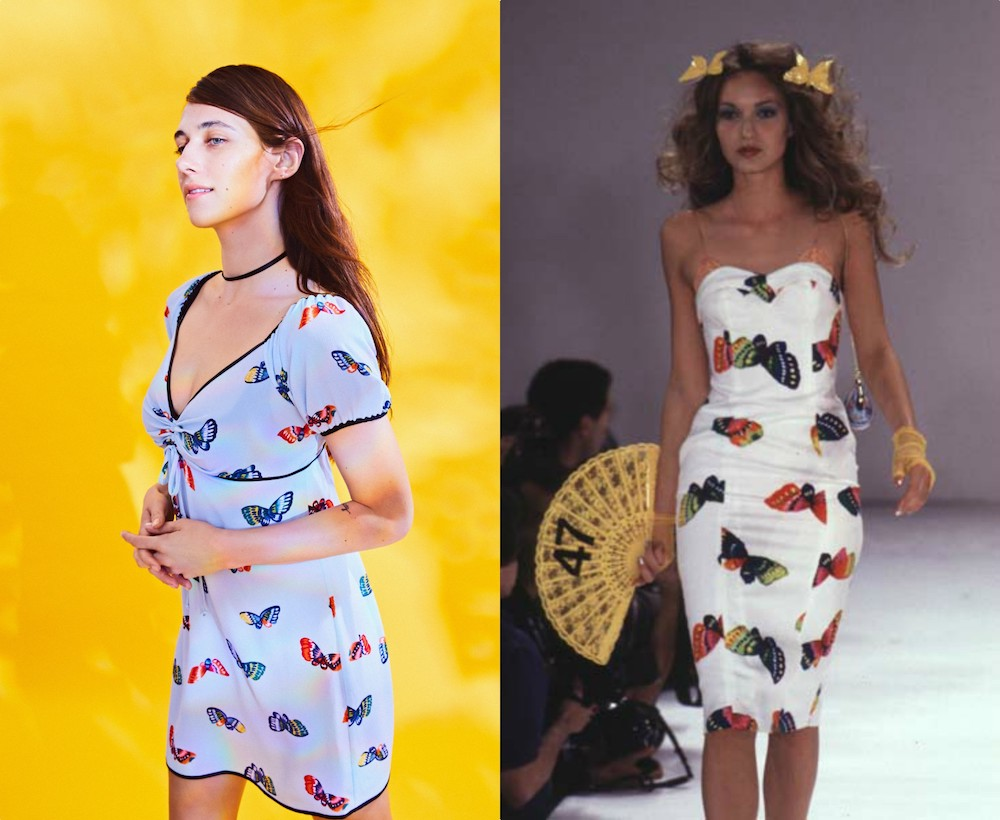 The Betsey Johnson and Urban Outfitters collab is a throwback to her 1997 summer collection