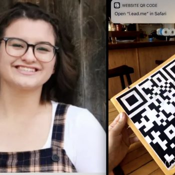 This teen used her graduation cap—and an ingenious computer code—to send a critical message about gun violence