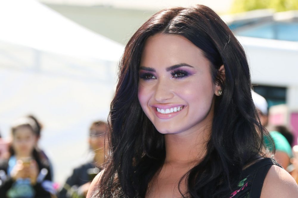Demi Lovato's body-positive, leopard-print bikini selfie is the empowering content we crave