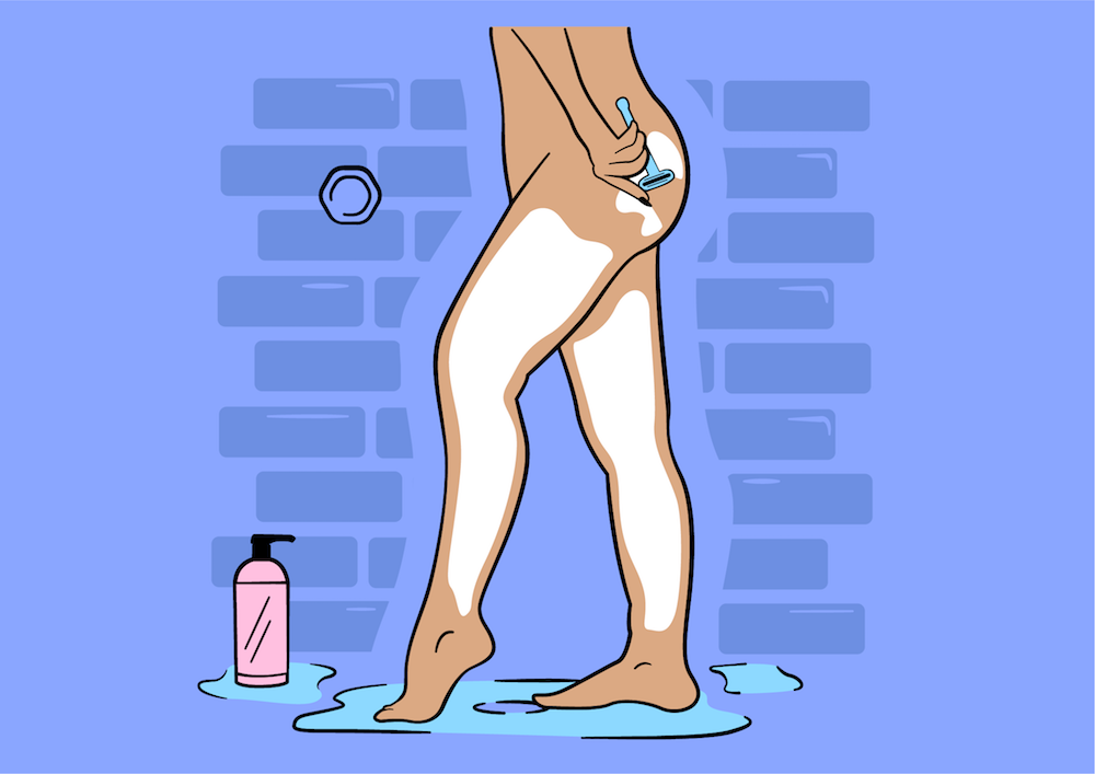 Everything you need to know about shaving your body