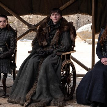 Fans noticed a water bottle in the <em>Game of Thrones</em> finale, and there's a Twitter storm of ice and fire