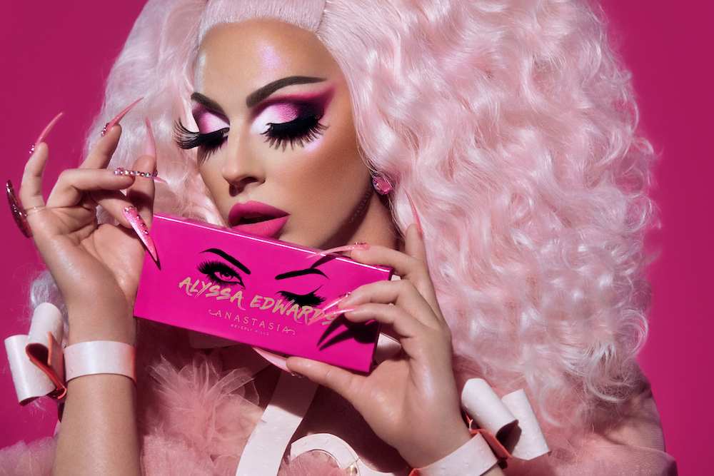 Anastasia Beverly Hills is launching a palette with Alyssa Edwards, and *tongue pop*