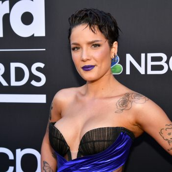 Halsey paid a fan's $250 speeding ticket for this excellent reason