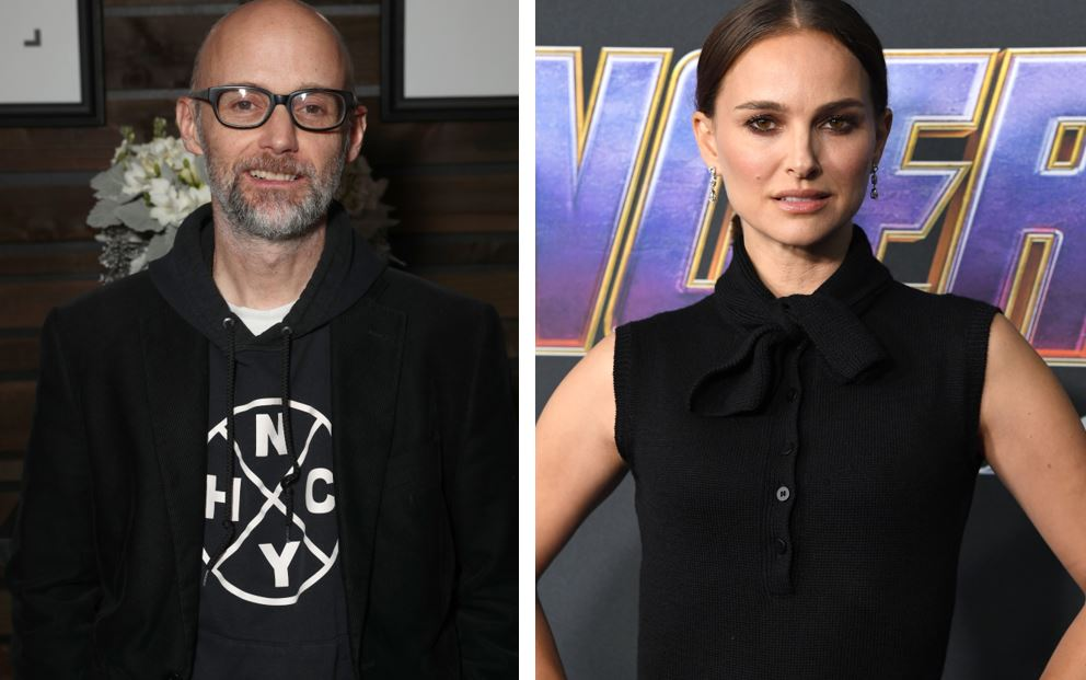 Moby is creepily claiming that he dated Natalie Portman, and she's calling him out for it