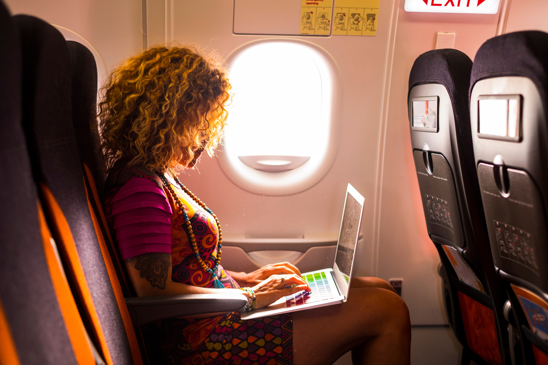 This is what you should do on a plane if you actually want to be comfortable