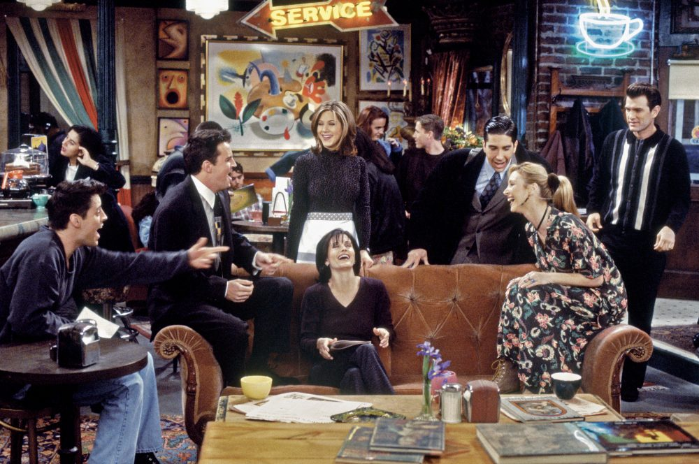 A pop-up <em>Friends</em>-themed café is opening, so you can visit Central Perk IRL