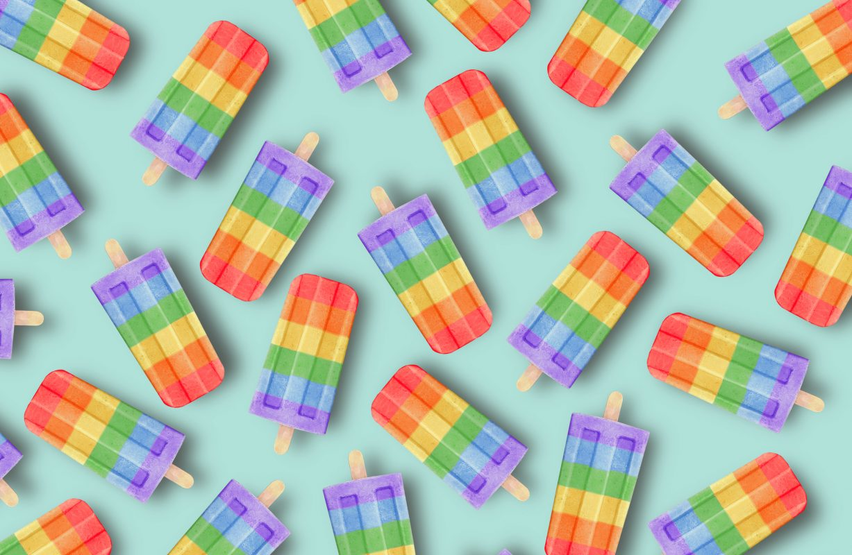 Rainbow jelly nails are the ice pop-inspired nail art trend that practically scream summer