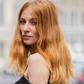 Peach cobbler hair is the most delicious trend of the summer
