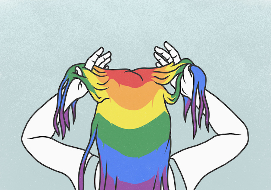 I thought it was easy to label your sexuality—until I had to label mine
