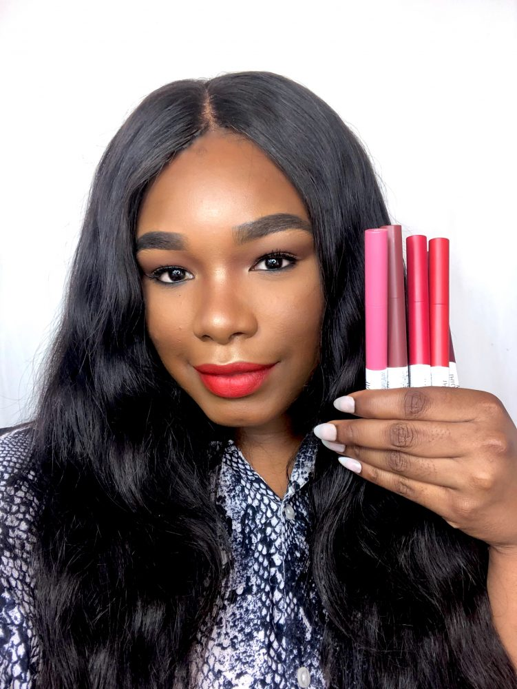 I tried Maybelline's new matte crayon lipstick line, and I can finally give my glosses a break