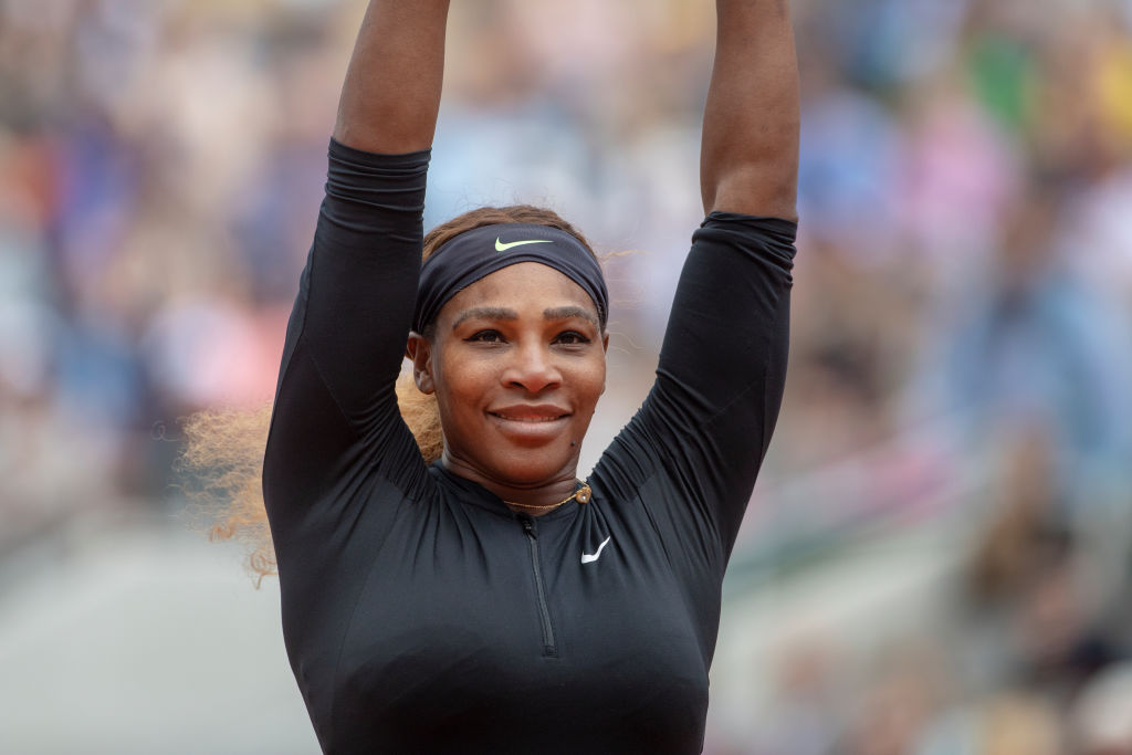 Serena Williams just achieved a major career milestone, and it's so well-deserved