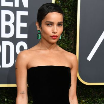 Zoë Kravitz opened up about developing an eating disorder at age 13, and her words are so powerful