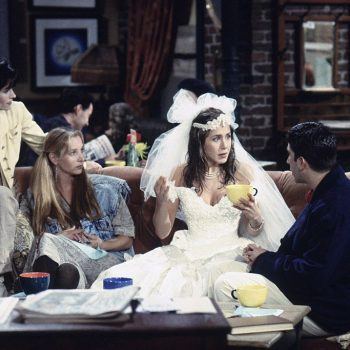 Jennifer Aniston just said some VERY promising things about a possible <em>Friends</em> reunion