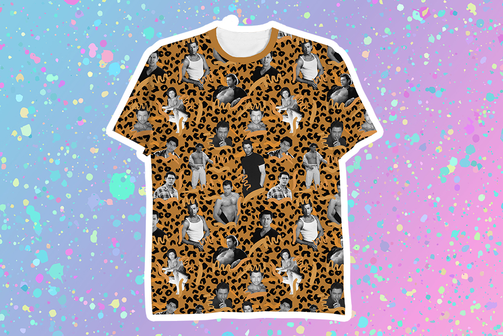 This T-shirt is an ode to the Internet's favorite zaddy, Jeff Goldblum