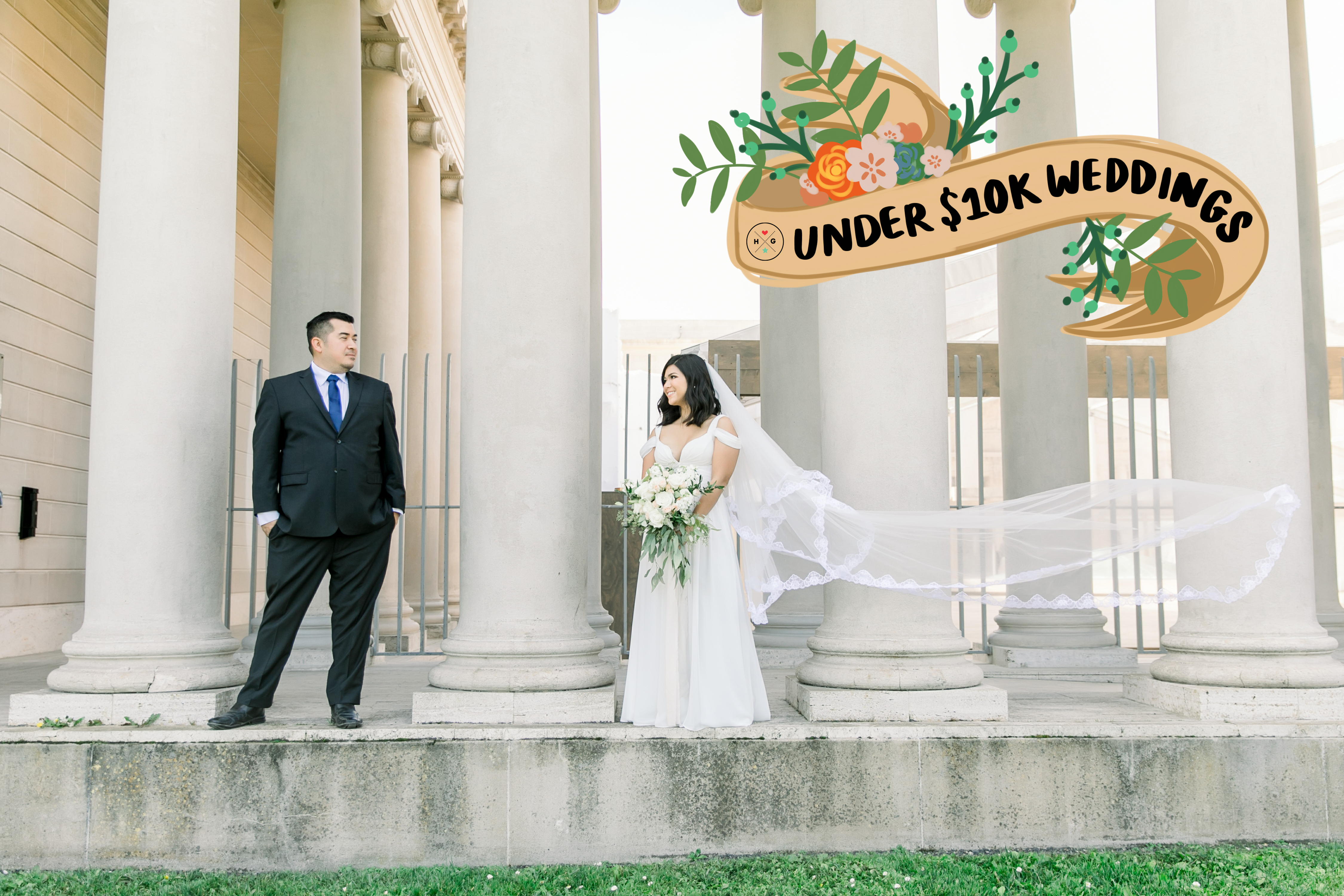 Under $10k Weddings: Kris and Iris's sweet San Francisco wedding