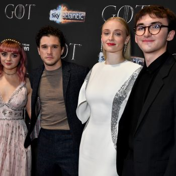 Sophie Turner blamed one of her fellow Northmen for the notorious <em>Game of Thrones</em> coffee cup