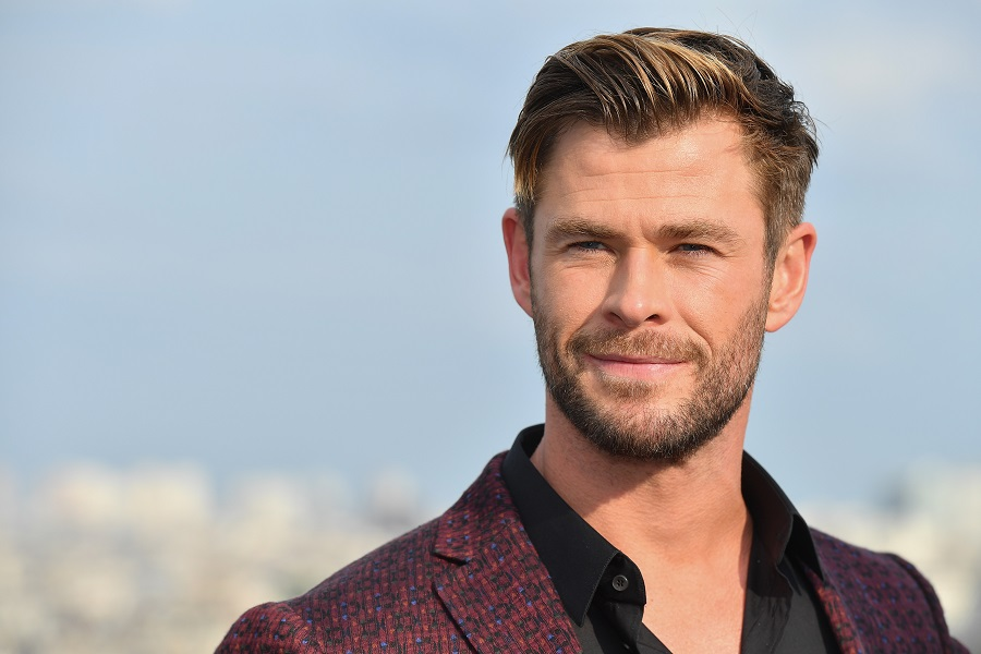 Chris Hemsworth revealed an <em>Avengers: Endgame</em> behind-the-scenes clip, and we don't know whether to laugh or cry