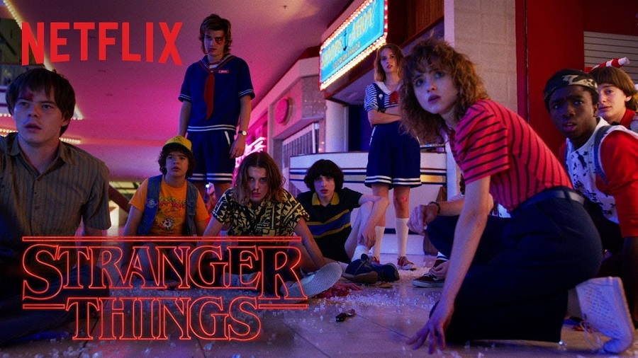 Nike is releasing a throwback <em>Stranger Things</em> collection, and we'd venture to the Upside Down for a Hawkins High T-shirt