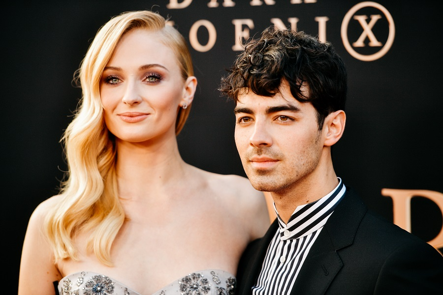 Sophie Turner and Joe Jonas shared their first official wedding photos, and her dress is GORG
