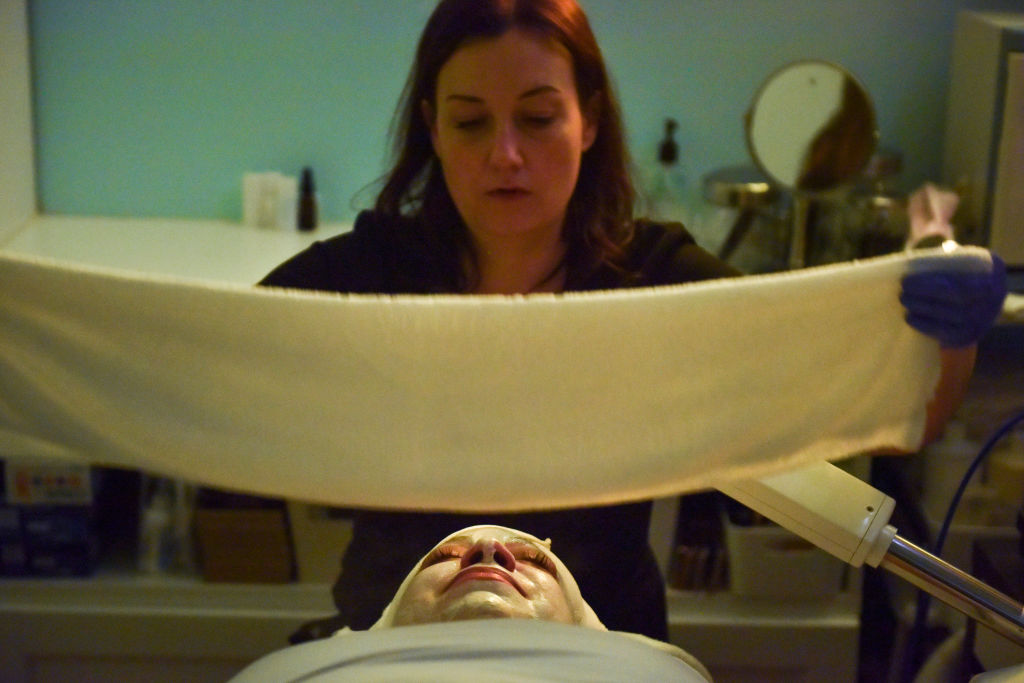 I tried a CBD-infused facial, and it put me in a meditative state
