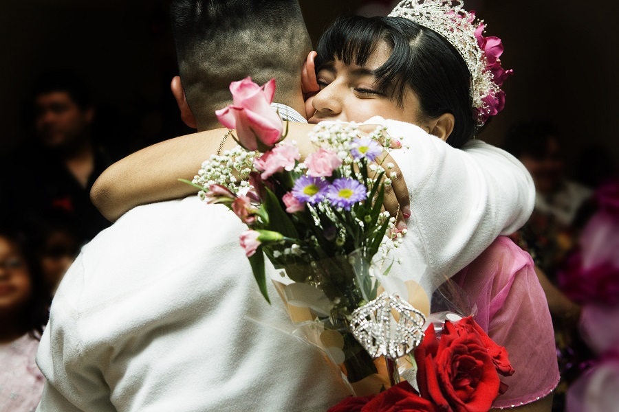This teenager had a voter registration booth at her quinceañera, and more of this, please