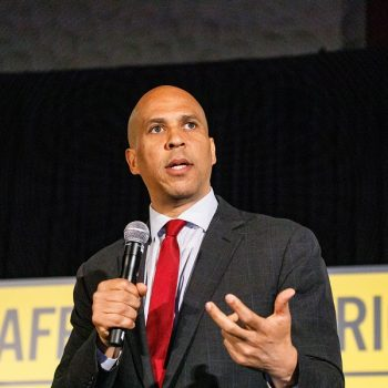 """Cory Booker said he will """"fight to protect"""" black transgender women, and this is so important"""