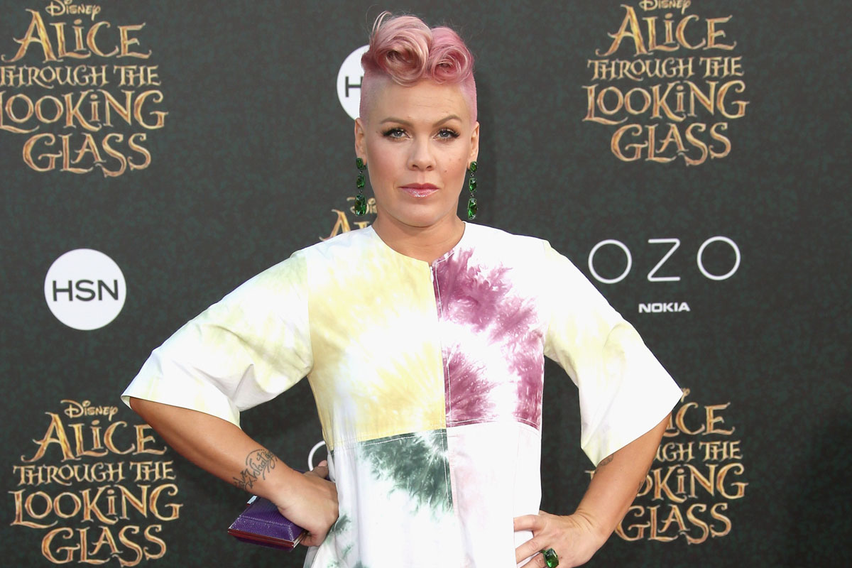 Pink revealed that she had her first miscarriage at age 17
