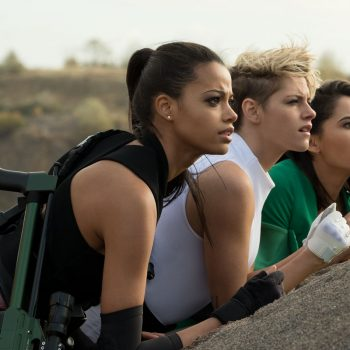 hese photos of Kristen Stewart in the new <em>Charlie's Angels</em> have Twitter in its big gay feelings