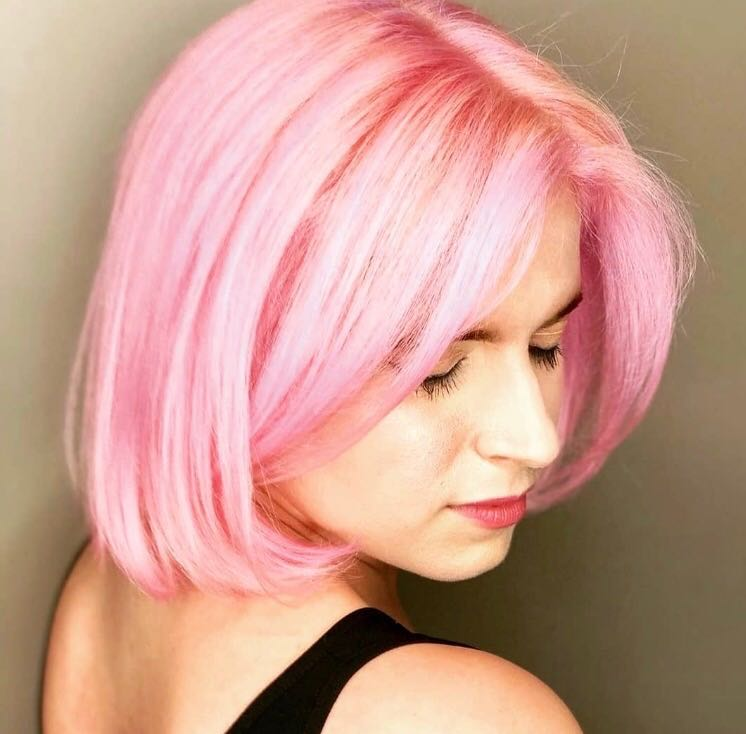 Why dyeing my hair pink is helping me get past my irrational fear of turning 30