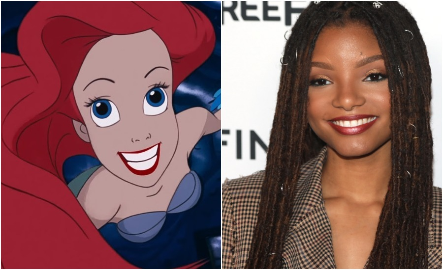 Halle Bailey's <em>The Little Mermaid</em> casting has inspired Ariel fan art across the world