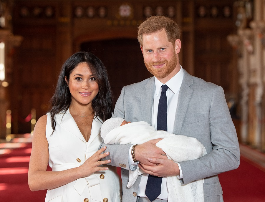 The first official photos from Baby Archie's christening are here, and they're (almost) too cute for words
