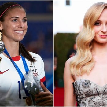 Sophie Turner loved Alex Morgan's tea-sipping celebration so much that she interrupted her honeymoon to congratulate her