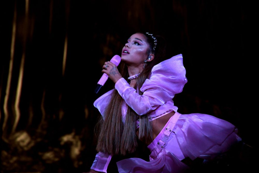 "Ariana Grande thanked fans for accepting her ""humanness"" in a heartfelt post about crying onstage"
