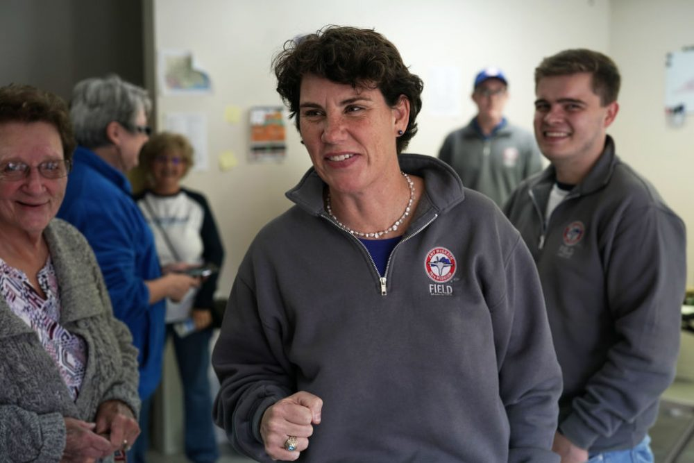 Marine veteran Amy McGrath will challenge Mitch McConnell for his Senate seat in 2020, and she has already broken barriers