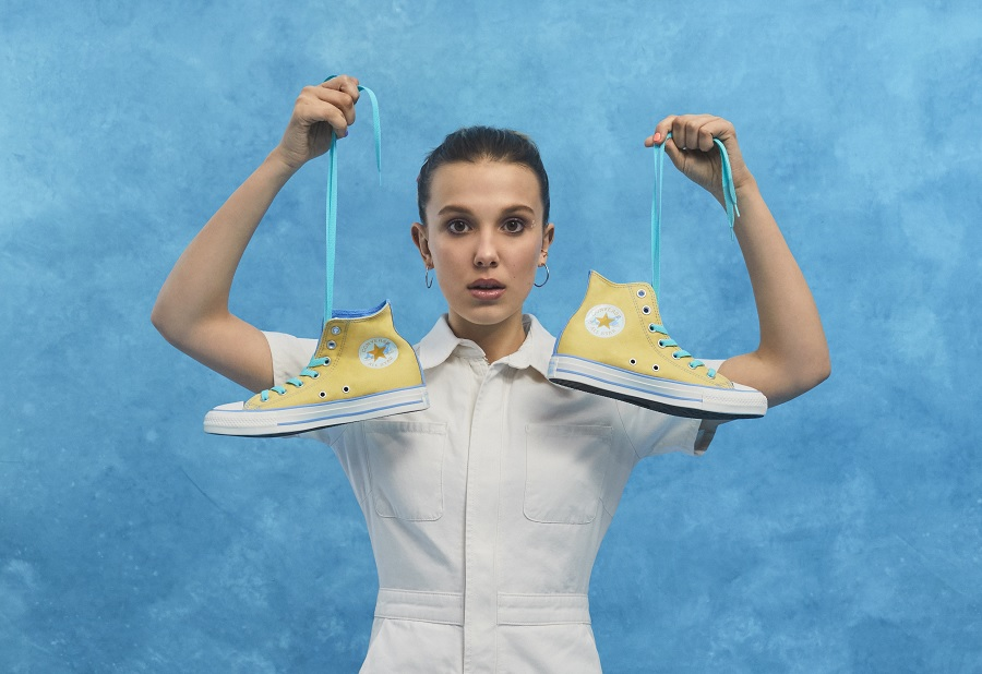 Millie Bobby Brown's new Converse collection lets you design your own throwback Chuck Taylors