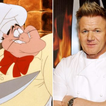 <em>The Little Mermaid</em> fans want Gordon Ramsay to play angry Chef Louis in live-action adaptation, and we're totally on board