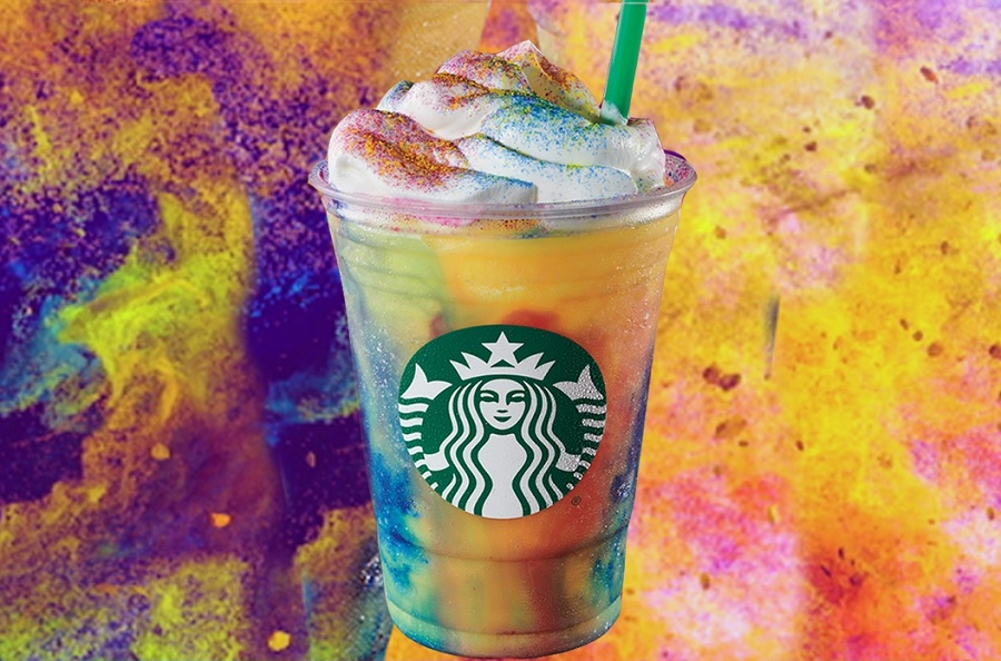 Here's what people *really* think about Starbucks's new tie-dye Frappuccino