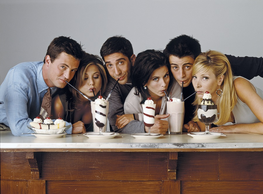 Pottery Barn is releasing a <em>Friends</em> collection, and yes, you can buy THE apothecary table