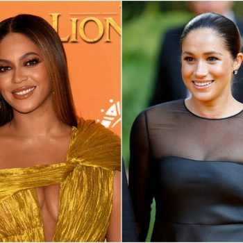 Beyoncé and Meghan Markle met at <em>The Lion King</em> premiere, and they're officially #squadgoals